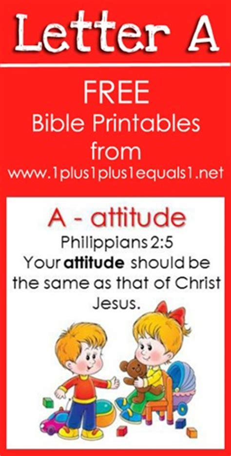 Letter Using Bible Verses Letter A Bible Verse Printable Freebies Free Homeschool Deals