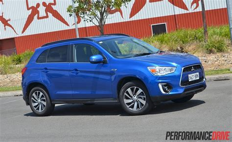 mitsubishi tv ls best buy 2015 mitsubishi asx ls 2wd review video performancedrive