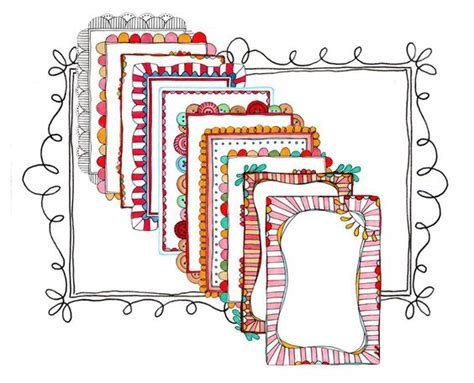 doodle border ideas doodles ideas magazine and doodle frames on