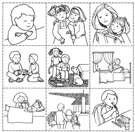36 Good Works Game Lds Sunbeam Lessons Pinterest Lds Sunbeam Coloring Pages