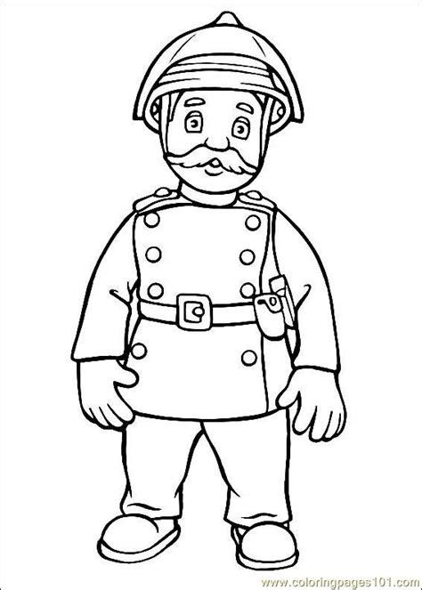 Coloring Pages Fireman Sam 22 Cartoons Gt Fireman Sam Sam Coloring Pages