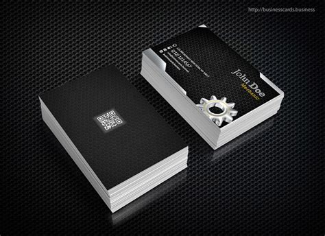 card template mechanic free mechanic business card template business cards