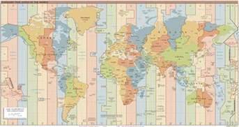 simplified calendar and no time zones human world