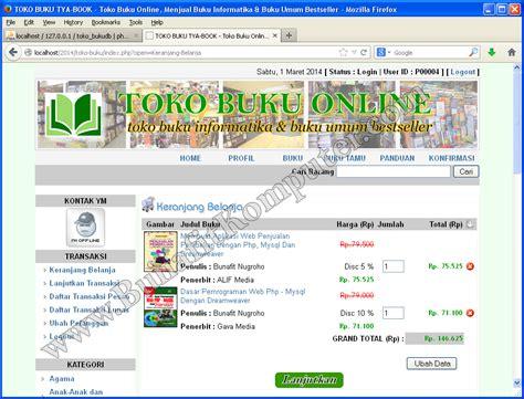 source code toko buku bunafit komputer