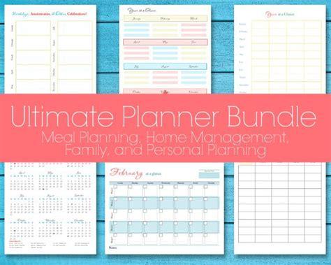 printable planner bundle ultimate planner bundle 2016 2017 editable printables for