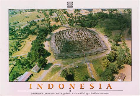 borobudur temple indonesia hqeem stamps