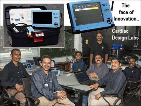 design lab bangalore bangalore startup crafts award winning remote cardiac monitor