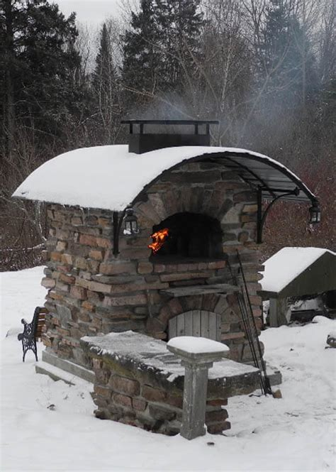 bravo winter garden a forno bravo outdoor pizza oven for winter performs just