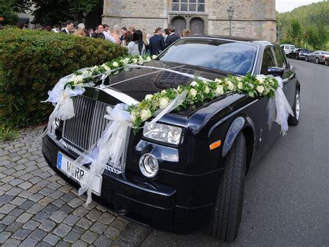 Autodeko Hochzeit by Blumen Sanders Hochzeit Autodeko