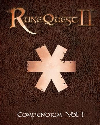 Suplemen Q Ten runequest