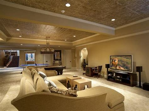 modern basements 21 stunning modern basement designs false ceiling ideas