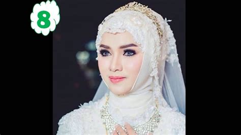 tutorial make up pengantin muslimah inspirasi hijab pengantin modern 2017 youtube