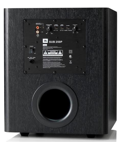 Speaker Subwoofer 200 Watt jbl sub 250p 10 inch 200 watt powered subwoofer ca electronics
