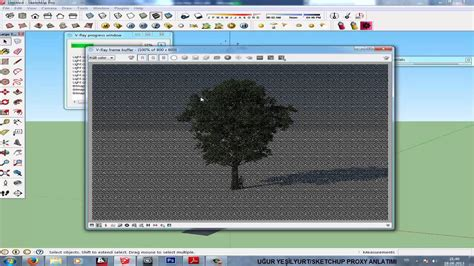 sketchup vray tree tutorial sketchup v ray proxy tutorial and make forest doovi