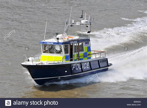 thames river police boats river thames london england uk metropolitan police high
