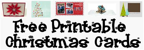 free printable christmas card templates allcrafts free