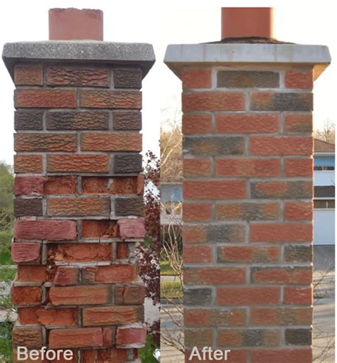Chimney Masonry Repair Estimate - chimney masonry repair downriver michigan the