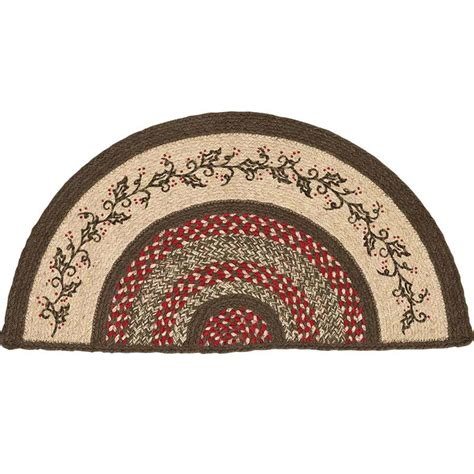 half moon rugs kitchen home decor