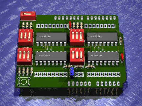 arduino i2c tutorial pdf project 016 arduino i2c 32ch digital i o extender board