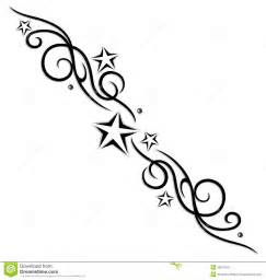 tribal tattoo stars stock image image 33575751