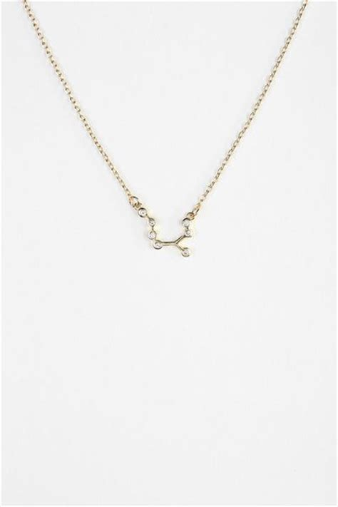 outfitters constellation necklace in gold