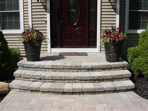 build concrete curved steps google search front