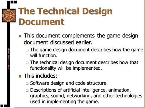 document design structure and layout preproduction in the game development process ppt download