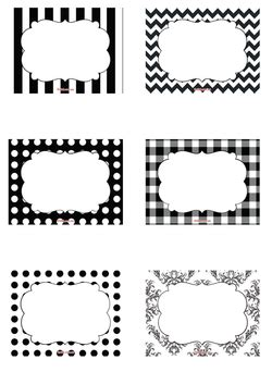 printable gift tags black and white free black white free printable candy buffet labels to