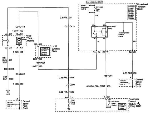 2000 grand am fuel wiring diagram 2000 free engine