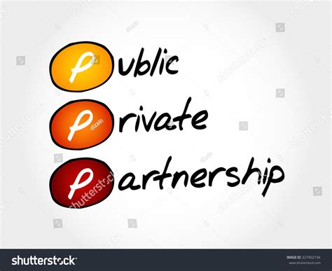 Mba Acronym Business by Ppp Publicprivate Partnership Acronym Business Concept