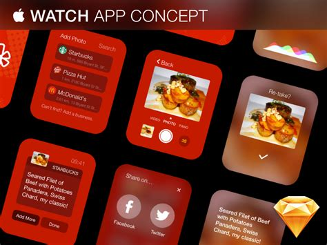 design app apple apple watch app concept free sketch download by rıza