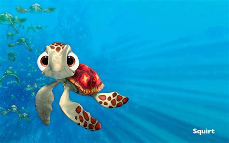 Squirt Meme - crush finding nemo sea turtle