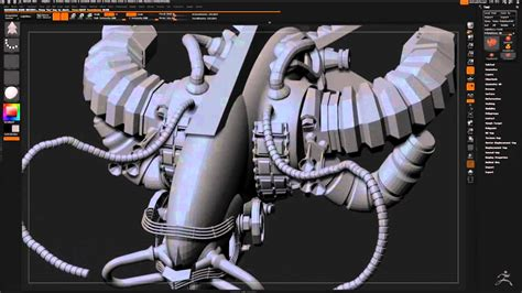 tutorial zbrush 4r7 zbrush 4r7 spaceship tutorial youtube