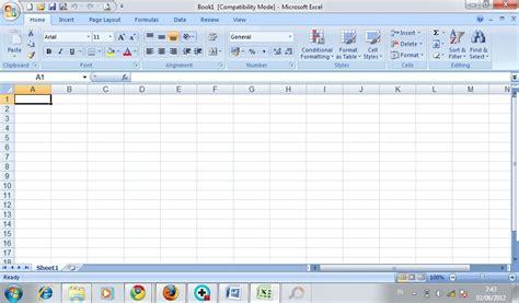 tutorial excel indonesia bagian 8 menu dan fungsi dari microsoft excel 2007 mei 2012