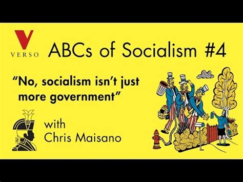 No Socialism Isn T Just More Government With Chris