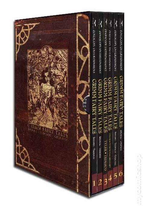 grimm tales coloring book box set books grimm tales tpb box set 2009 vol 1 6 comic books