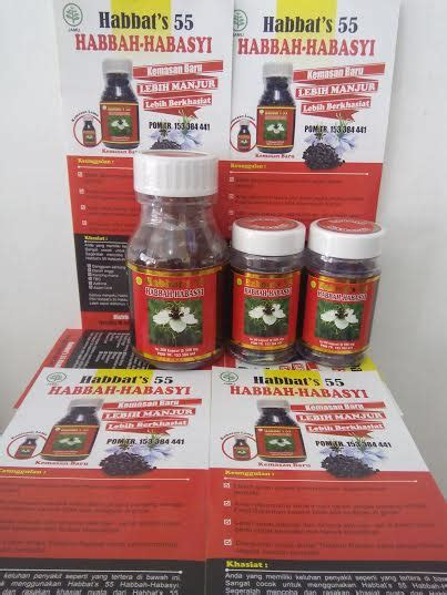 Habbasy Pondok Herbal 200 Kapsul Minyak Habbasyi Cv Fotosintesis 2 habbat s 55 habbah habbasy herbal sahabat muslim
