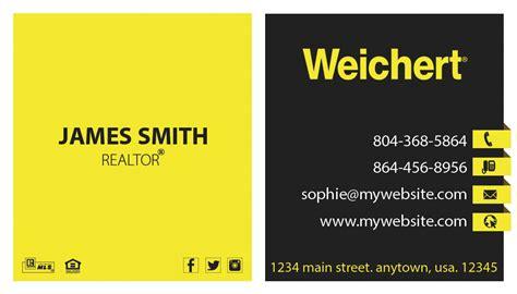 weichert business card template weichert realtors business cards 20 weichert business