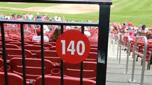 st louis cardinals boxes section 140