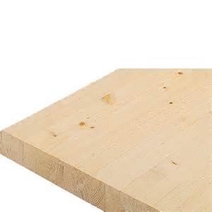 arbeitsplatte fichte massivholzplatte fichte 240 x 60 x 4 cm bauhaus