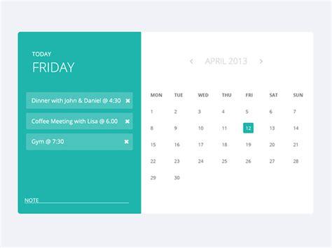 calendar design bootstrap appointment calendar on behance