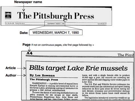 A News Paper - newspaper 171 easybib