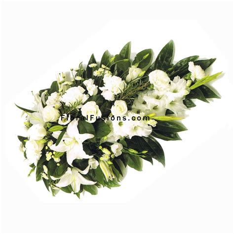 Sprei Flower white roses carnations spray funeral flowers