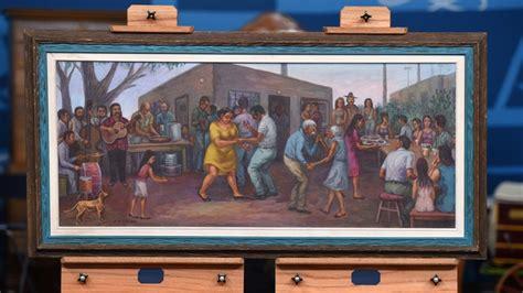 domingo ulloa oil painting antiques roadshow pbs