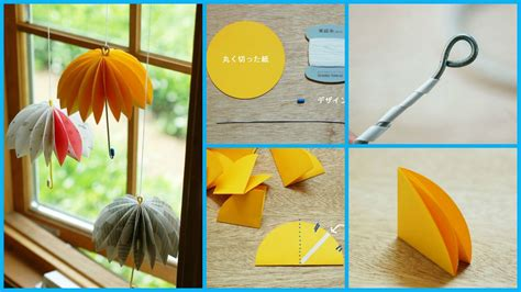 How To Make A Paper Umbrella - how to make a paper umbrella craft ideas