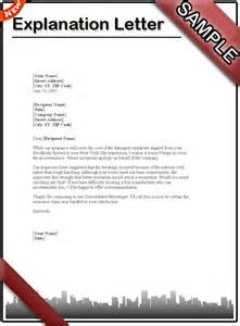 Do I Need To Write A Letter Of Resignation by How To Write An Explanation Letter Sle