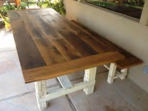 Farmhouse Dining Table With Bench Reclaimed Oak Farmhouse Table Bench Farmhouse Dining