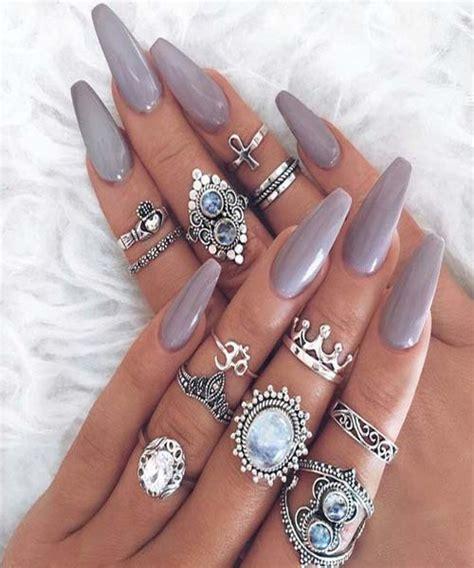 stunning acrylic nails fashion