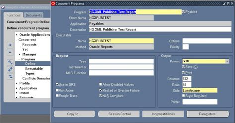 xml reports tutorial oracle apps oracle apps adf soa create xml publisher report using