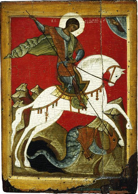 saint george and the dragon holy russia exhibition at the mus 233 e du louvre